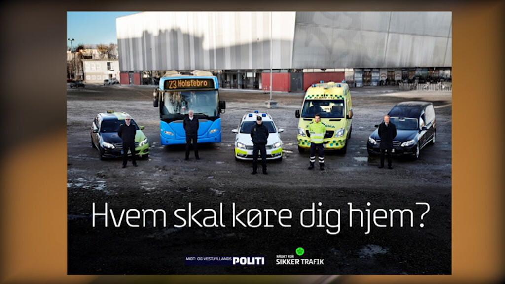 VIDEO Politiets kampagne mod spritkørsel spreder sig til udlandet | Indland | DR