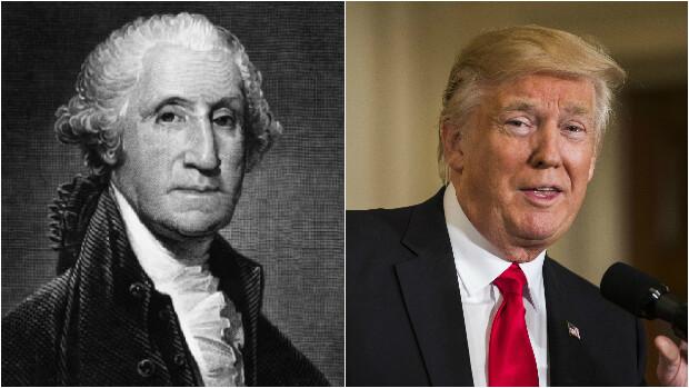 VIDEO Fra Washington til Trump: Se 45 amerikanske præsidenter på ét minut | Udland | DR