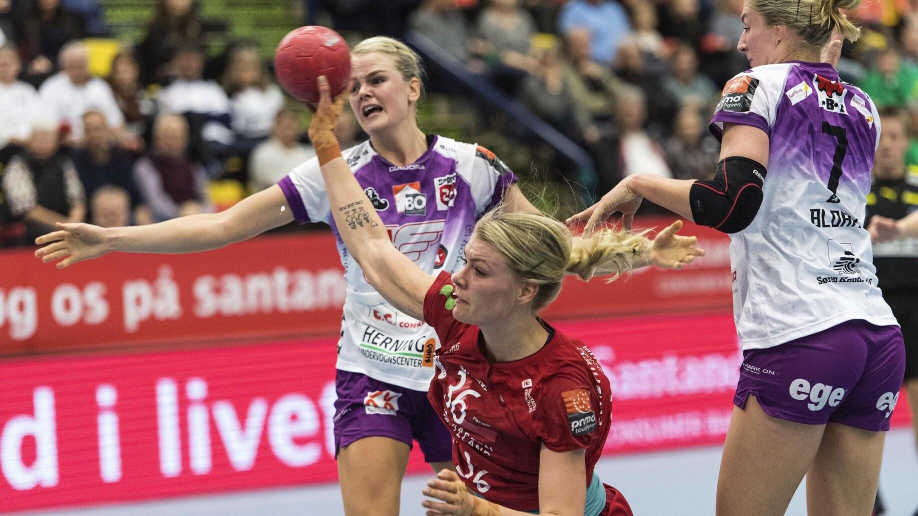 Randers knuser FCM Håndbold i uventet pokaltriumf | Håndbold | DR