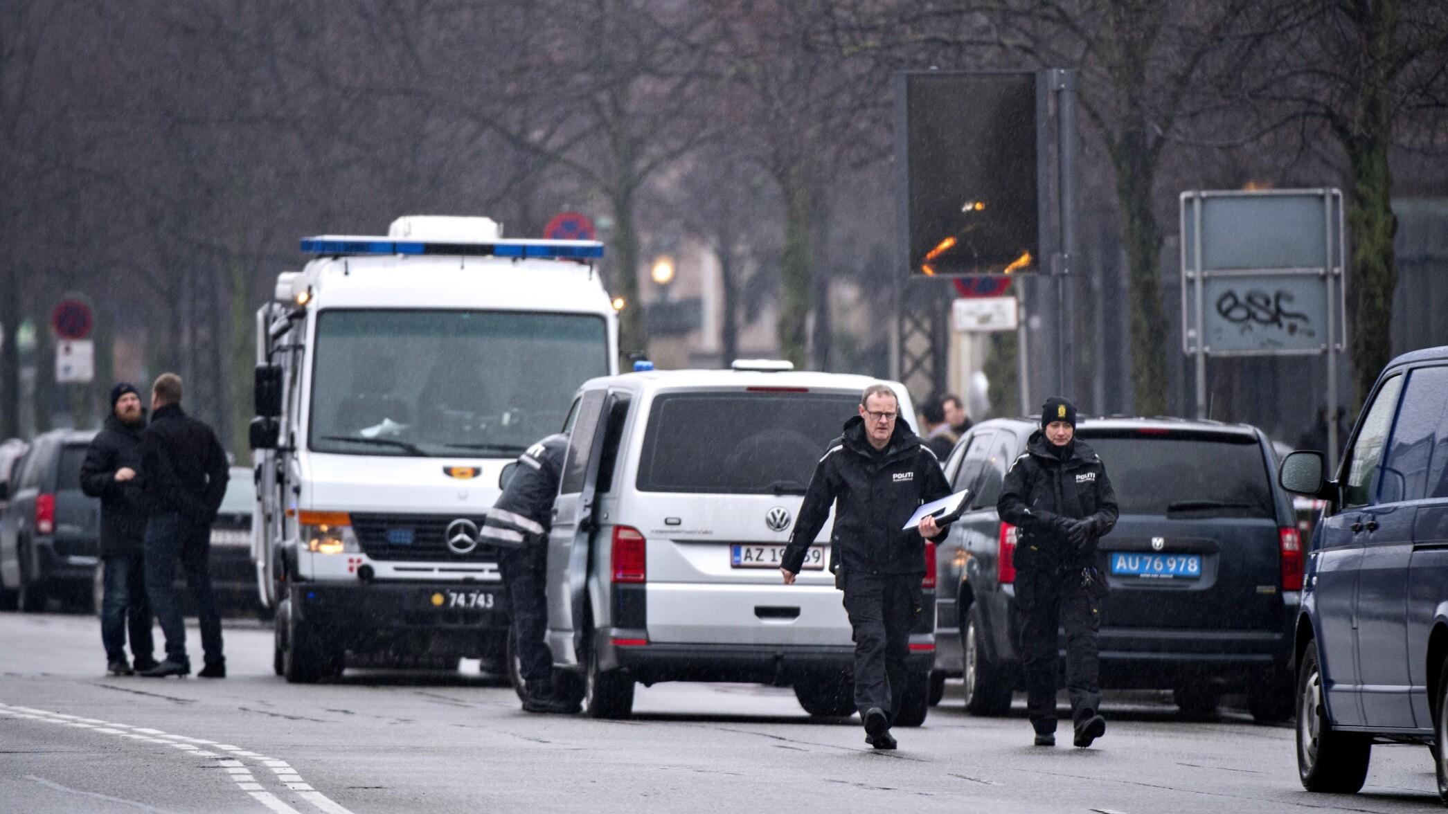 Politiet undersøgte 'mistænkeligt forhold' ved USA's ambassade i København | Indland | DR