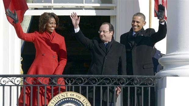 Obama og Hollande: Flere lande må tage globalt ansvar | Udland | DR