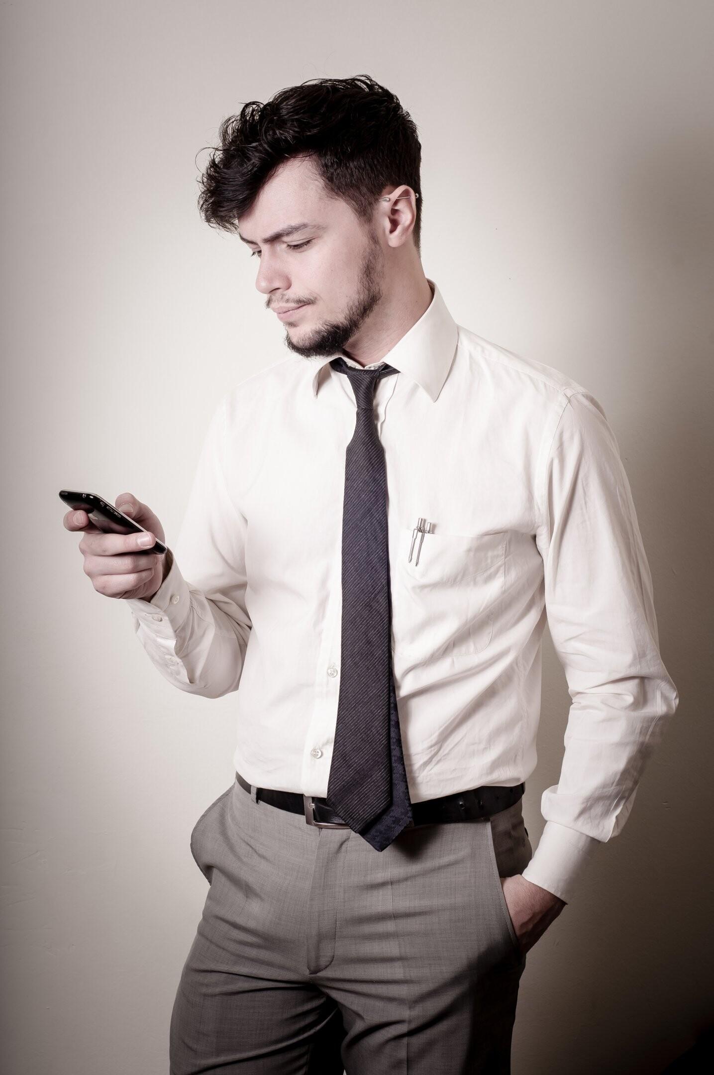 Flirtende mænd appellerer
