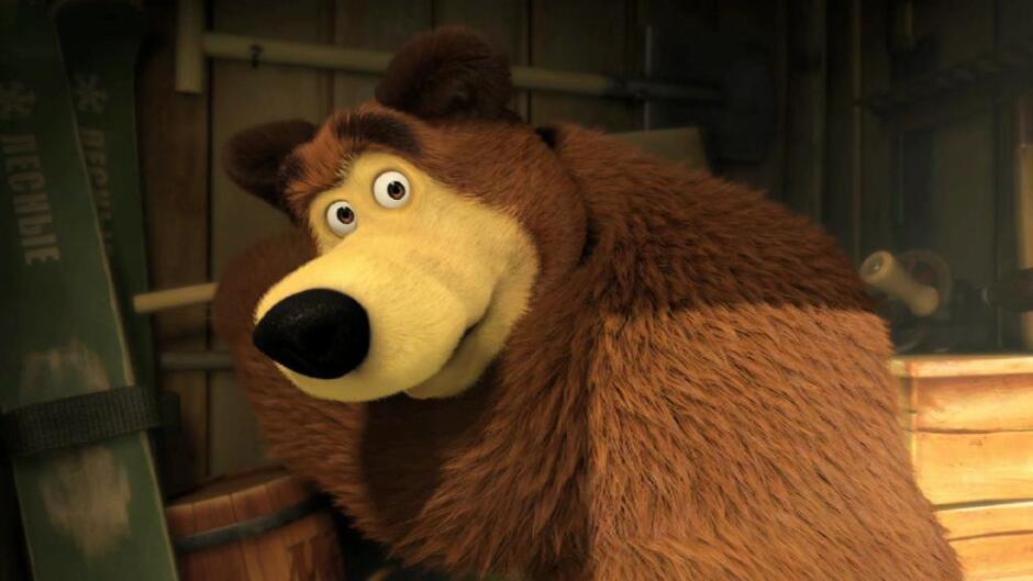 Masha og bjørnen