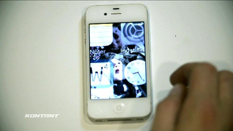 Kontant: Dyr fejl på populær Iphone