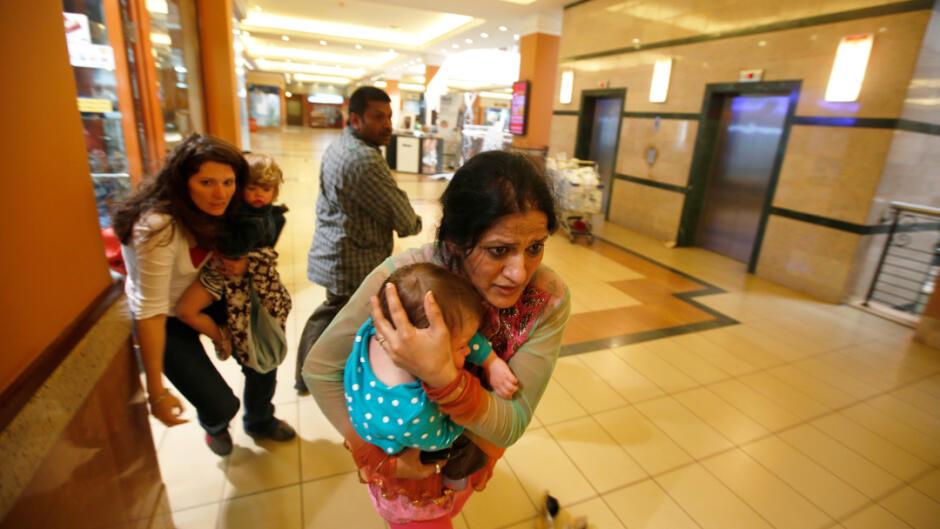 Dokumania: Terror i indkøbscentret