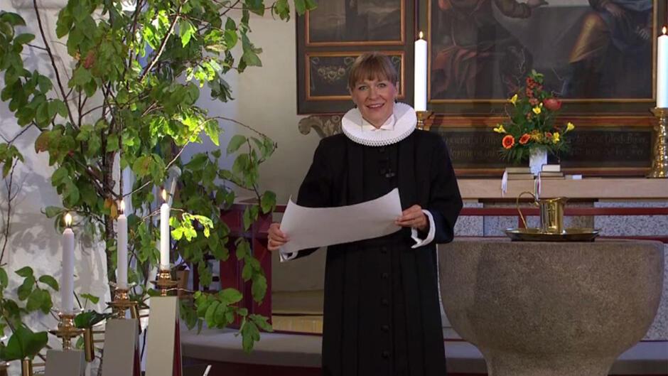 Gudstjeneste i DR Kirken