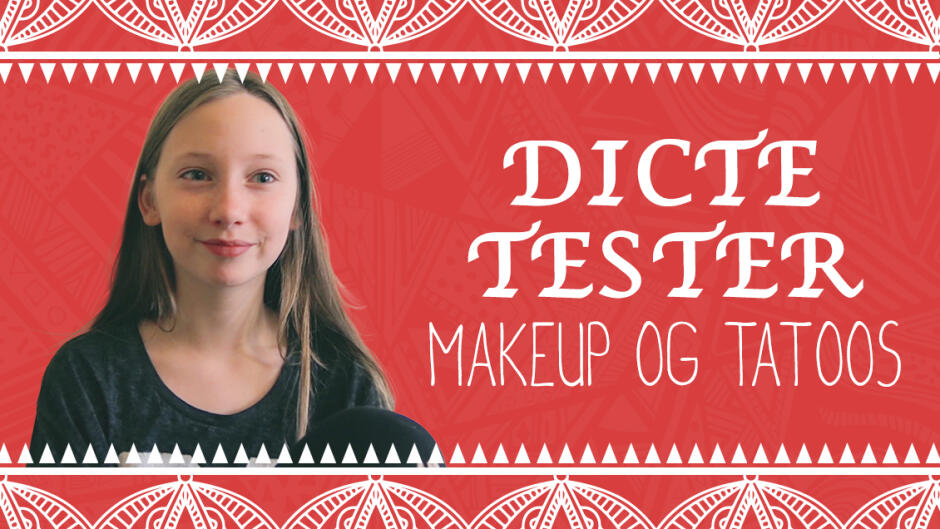 Dicte tester makeup og tatoos