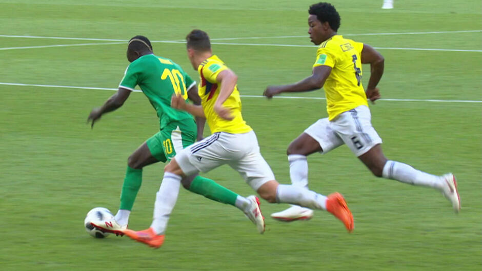 FIFA VM 2018: Senegal - Colombia