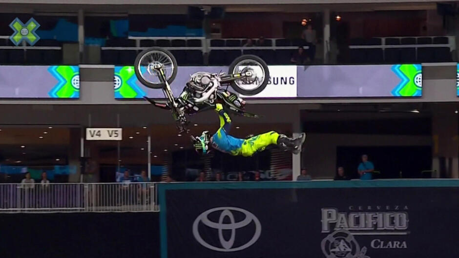 X Games Minneapolis: Moto X High Air, BMX Big Air og Moto X Freestyle finaler