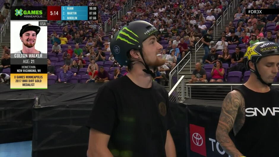 X Games Minneapolis: BMX Park Best Trick, direkte