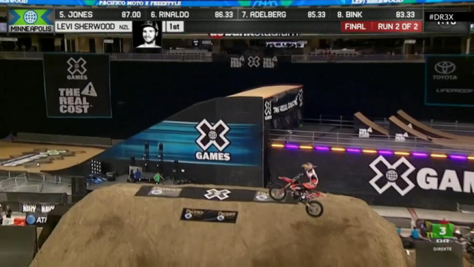 X Games Minneapolis: Moto X Freestyle finale (m), direkte