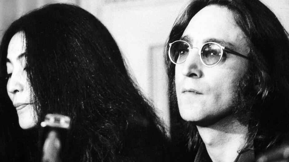 John & Yoko - Above Us Only Sky
