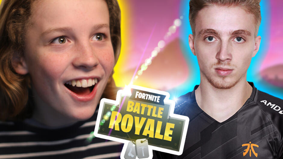 Kan en noob vinde Fortnite med en Pro? Jarl og William fra Klassen