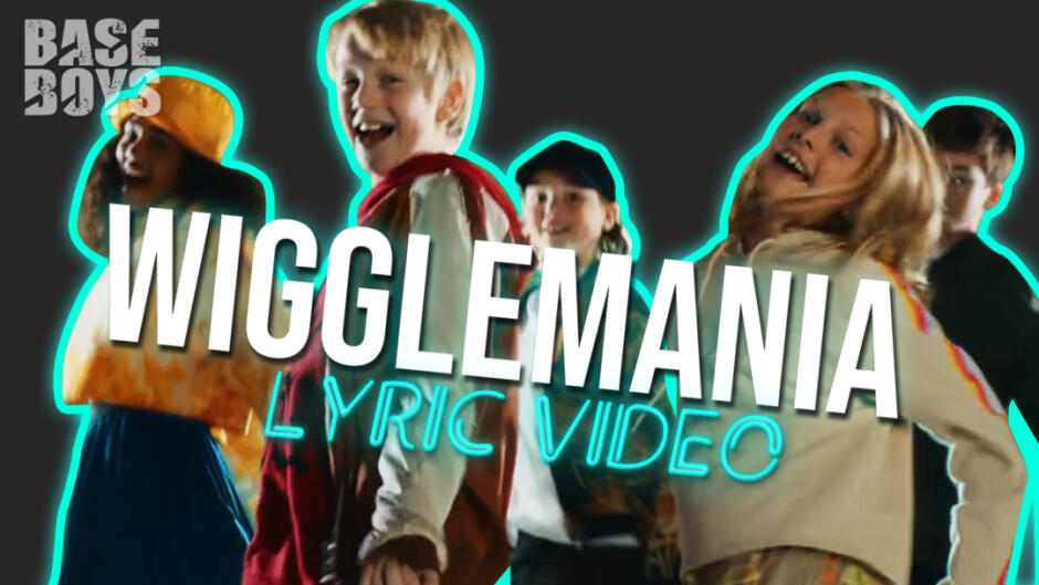 BaseBoys & GoldGirls - WiggleMania (Official Lyric Video)