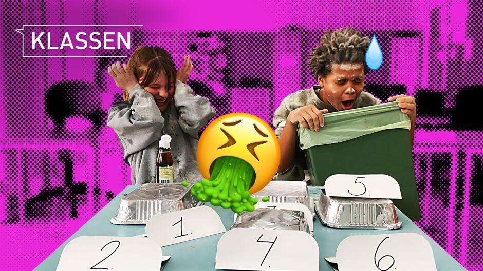 Klassen - Eat it or wear it challenge: Kan Mika spise fiskeolie uden at kaste op?