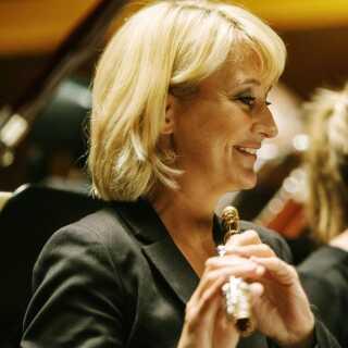 Her er Ulla Miilmann i den rolle, hun har været i i snart 25 år – som solofløjtenist i DR SymfoniOrkestret.