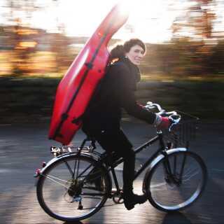 Ida Riegels har allerede nye planer i støbeskeen - blandt andet en 2.000 kilometer lang cykeltur til Rom.