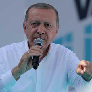Recep Erdogan har været Tyrkiets præsident siden 2014.