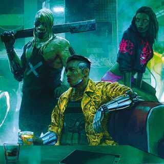 'Cyberpunk 2077' foregår i en dystopisk fremtidsverden, hvor en overbefolket by ved navn Night City er ved at bryde sammen under pres fra mennesker, teknologi og kriminalitet.