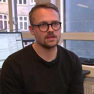 Jesper Reck-Jensen erfront-end udvikler hos Advice og 38 år gammel.