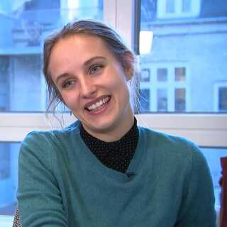 Kathrine Elvira Boysen er 27 år gammel og nyansat som PR-konsulent hos Advice.