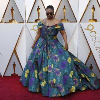 Whoopi Goldberg til sidste års Oscar-uddeling. Hun har været vært på showet i alt fire gange.