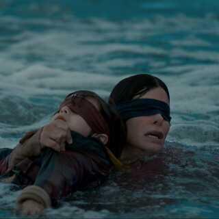 'Bird Box' med Sandra Bullock i hovedrollen skabte efter sin udgivelse en ny udfordringsdille på sociale medier.
