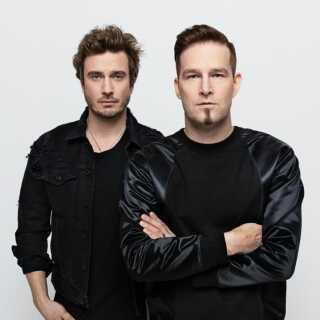 Finnerne sætter deres lid til Sebastian Rejman (tv.) og Darude, når Finland til maj dyster i Eurovision Song Contest.
