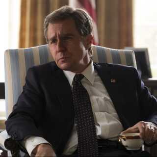Sam Rockwell spiller rollen som George W. Bush i 'Vice'. Han er nomineret til en Oscar for Bedste mandlige birolle, som han vandt sidste år for sin rolle i filmen 'Three Billboards Outside Ebbing, Missouri'