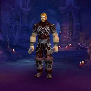 Mats' karakter i 'World of Warcraft': Lord Ibelin Redmoore.