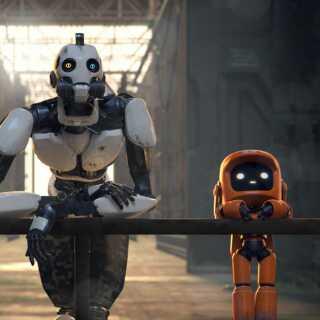 Kan robotter være nuttede? De kan de ifølge Frederik Dirks Gottlieb i afsnittet 'Three Robots'.