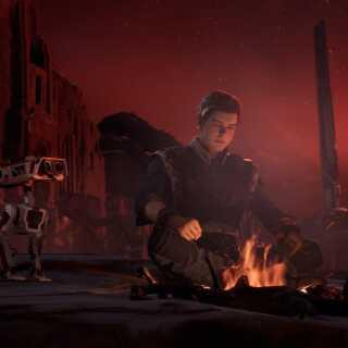 Spillets hovedkarakter er Cal Kestis, en jedi-padawan der har overlevet nedslagtningen af Jedi-ordenen.