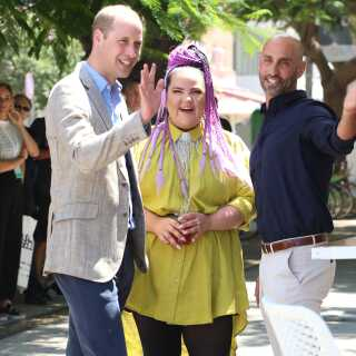 Da britiske prins William sidste år besøgte Israel, mødtes han med Netta Barzilai.