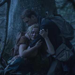 Både Simone og Martin udvikler sig i anden sæson af 'The Rain'. Her ses de i en intens scene i anden sæson af serien.