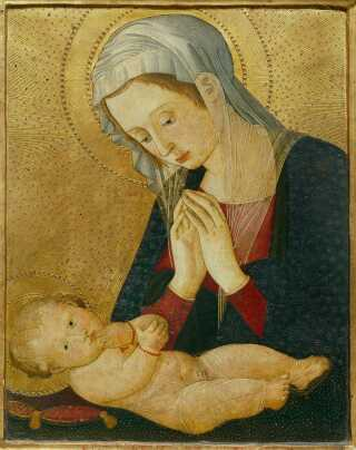 Madonna med Jesusbarnet.