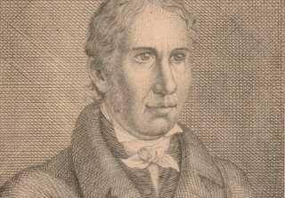 Grundtvig tegnet i 1822, hvor han er 39 år gammel.