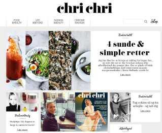 Chrstiane Schaumburg-Müllers onineunivers chrichri.dk