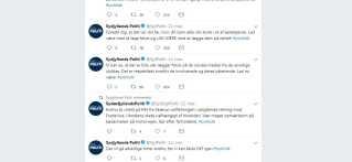 På Twitter opfordrede Syd- og Sønderjyllands Politi til, at bilisterne straks stoppede med at tage billeder fra ulykken.