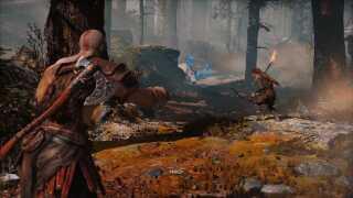 I det nye 'God of War'-spil har hovedpersonen Kratos fået en søn. Det skaber en ny dynamik i både historiefortælling og gameplay, mener anmelderne.