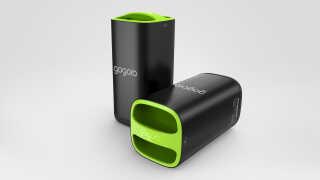 Sådan ser de to batterier ud.
