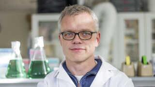 Professor Claus Felby og hans kolleger fra Institut for Geovidenskab og Naturforvaltning har udviklet omvendt fotosyntese til nedbrydning af biomasse vha. solenergi.