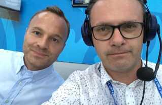 Lars Jacobsen og Henrik Liniger er klar til at kommentere herrelandsholdets vigtigste fodboldkamp i årevis.