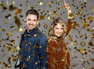 Johannes Nymark og Annette Heick er igen i år værter for Dansk Melodi Grand Prix, der sendes fra Gigantium i Aalborg lørdag den 10. februar.