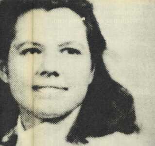 Billedet forestiller Minna Thompson, som var mistænkt for mordet.