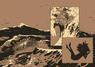 En illustration fra 'Zenobia'.