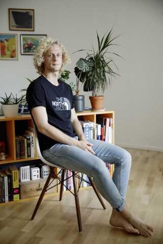 Martin Dover er 23 år gammel og arbejder til daglig for Happy Copenhagen, der står for at arrangere WorldPride og EuroGames i København i 2021.