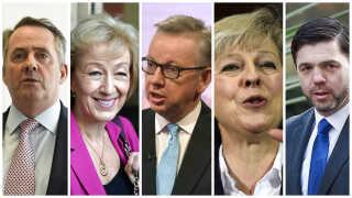 De fem konservative kandidater til den britiske premierministerpost er også uenige om, hvornår artikel 50 skal aktiveres.