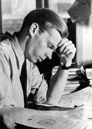 Digteren Morten Nielsen udgav kun én digtsamling - Krigere uden vaaben.