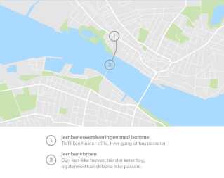 Det kan give andre trafikale problemer, når antallet af tog til Nordjylland stiger.