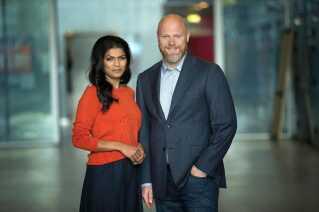 Ulla Essendrop og Mads Steffensen er værter, når Danmarks Indsamling 2017 kulminerer med et stort indsamlingsshow på DR1 lørdag den 4. februar